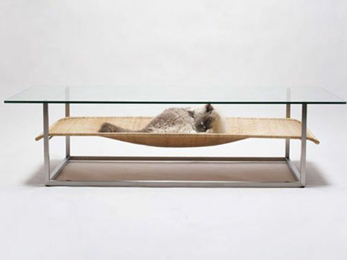Homebuildlife Cat Hammock Table By Case Real