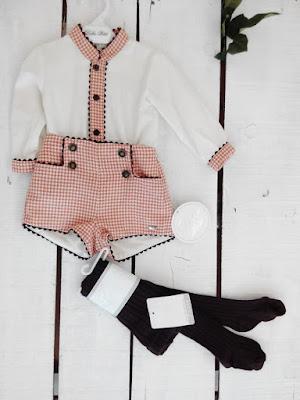 pantalones cortos niño coleccion dolce petit ratita comprar online en presumida