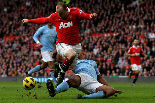 Wayne Rooney Vs Manchester City Man Utd Wallpaper Manchester United vs Manchester City