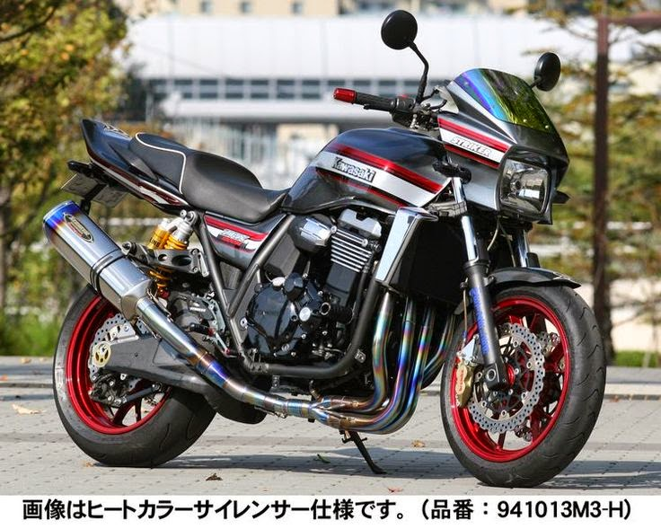 Kawasaki ZRX 1200 by Striker