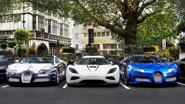 Mark J Jeffries Blog The Supercars Of London