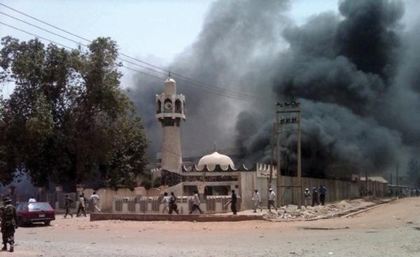 boko haram attack sanusi palace