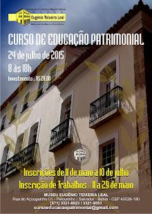 Curso de Educação Patrimonial: o bem cultural como ferramenta para educação e cidadania
