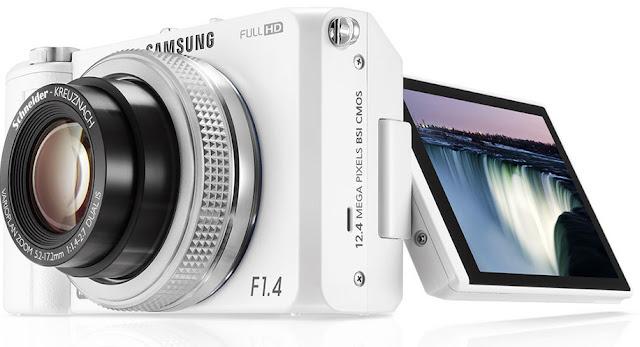 Samsung EX2, camara blanca, blanca, ex2