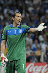 Goalkeeper Gianluigi Buffon of Juventus
