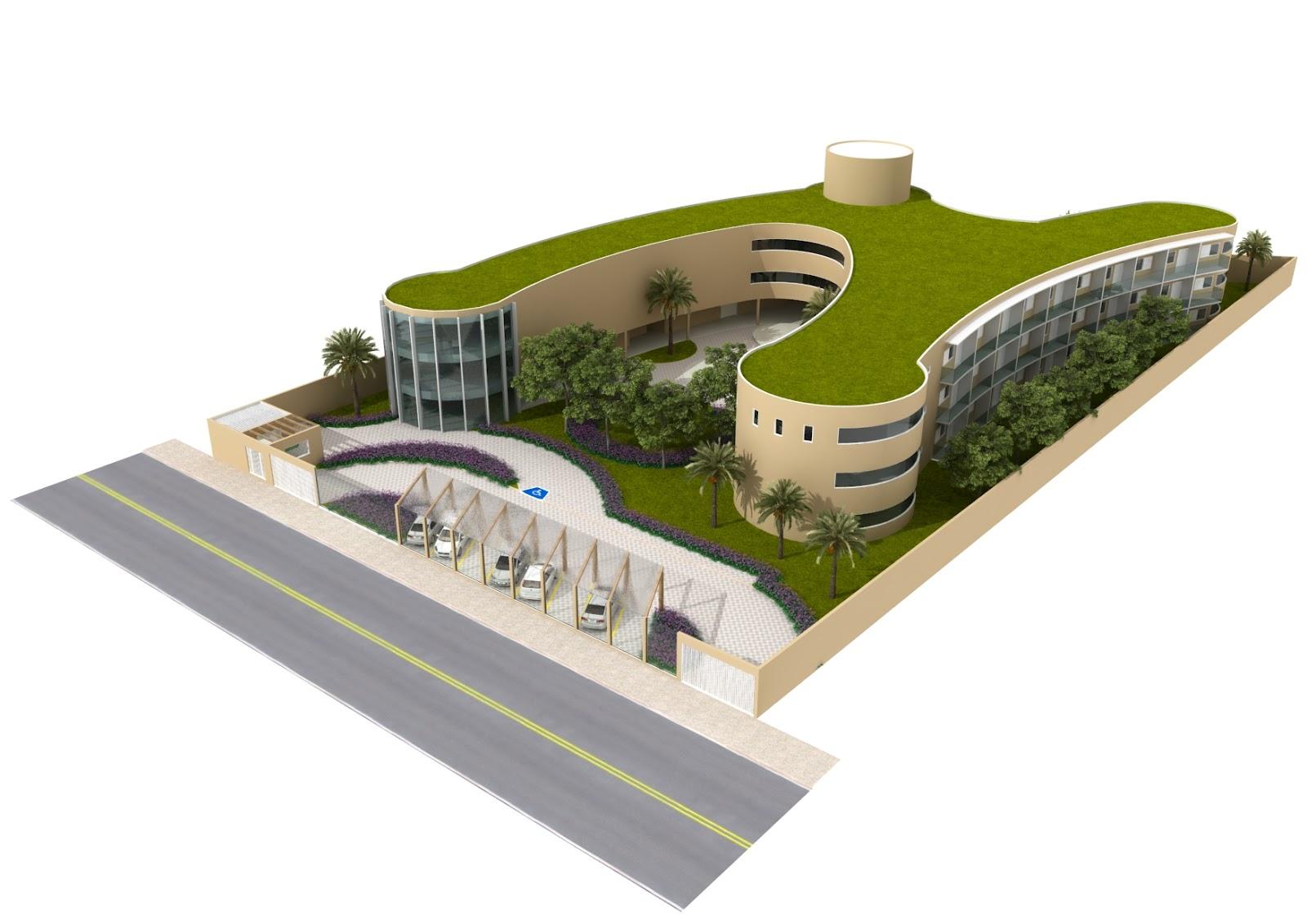Arquitetando: Projeto Lar Ebenézer Araxá MG #6E7316 1600 1132