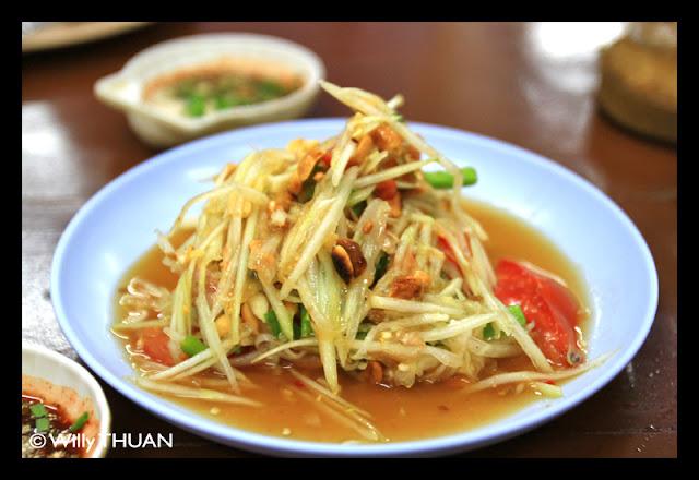 Som Tam in Thailand
