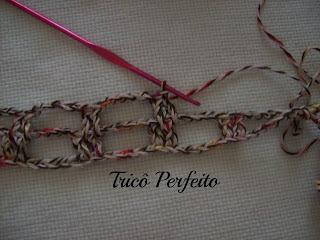 Artfully Simple Infinity Scarf - cachecol crochet em linha de algodão
