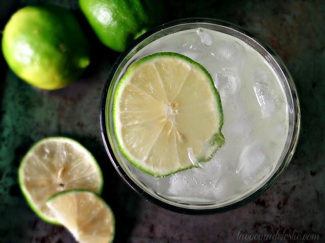 Citrus Limetta (Sweet Lime) Agua Fresca - lacocinadeleslie.com