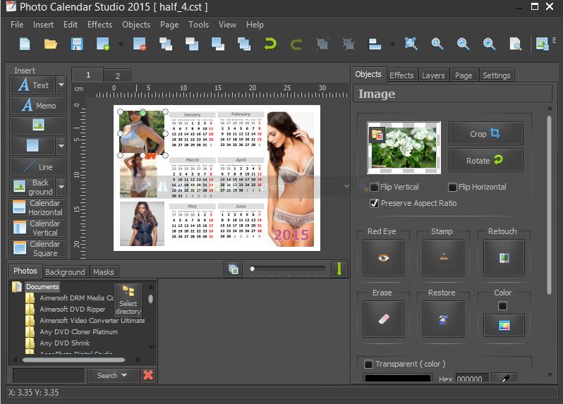 Key Calendar Design Software : Mojosoft photo calendar studio v full licensi key