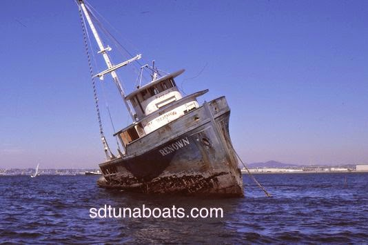 September 2014 San Diego Tuna Boats