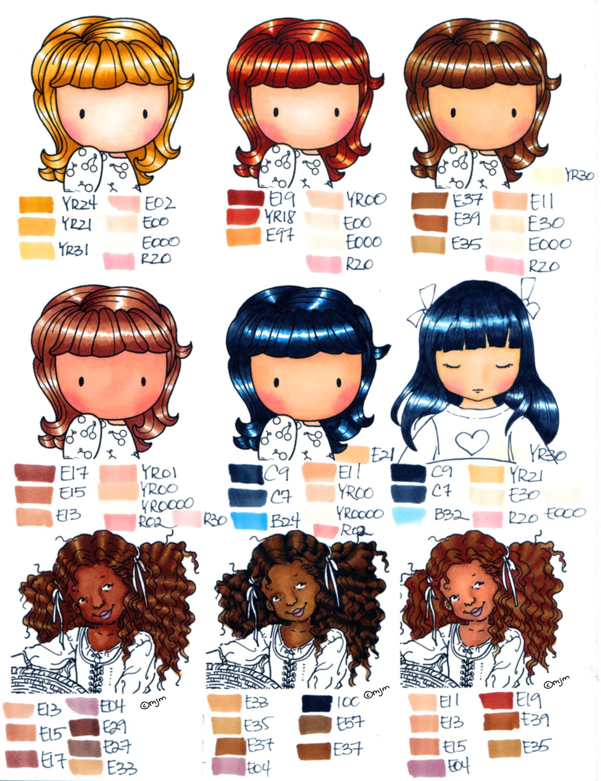Jewelry about you color gallery of hair color chart skin tone hair color chart skin tone rachael edwards nvjuhfo Gallery