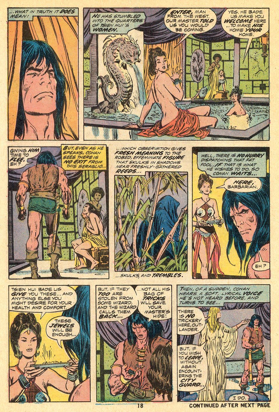 Conan the Barbarian (1970) Issue #32 #44 - English 13