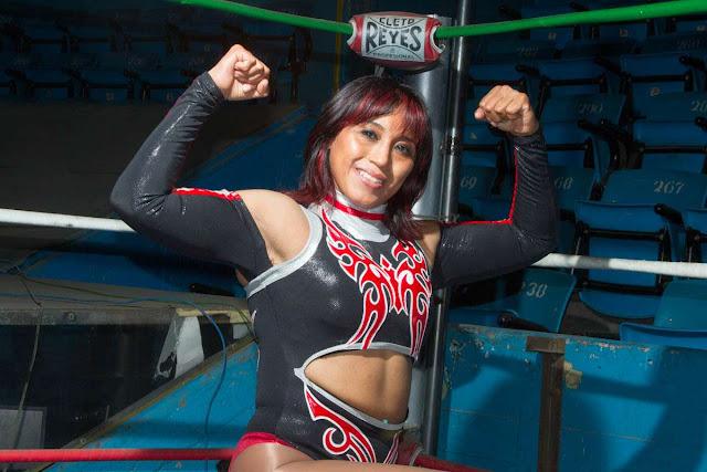 Mexican Luchadora Marcela