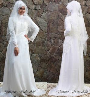 Baju Pengantin Muslim Yang Simpel Dan Harga Terjangkau