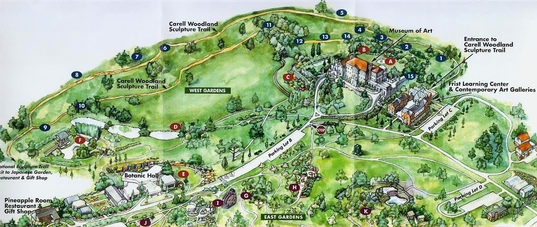 Exploring Cheekwood Botanical Gardens In Nashville