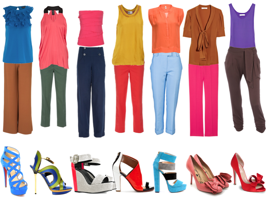 Rachel s fashion room en qu consiste el color block - Que colores pegan ...