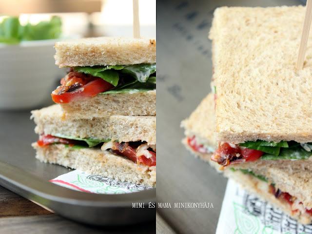 Klasszikus BLT szendvics