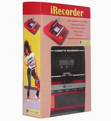 altavoz retro iPhone cassette