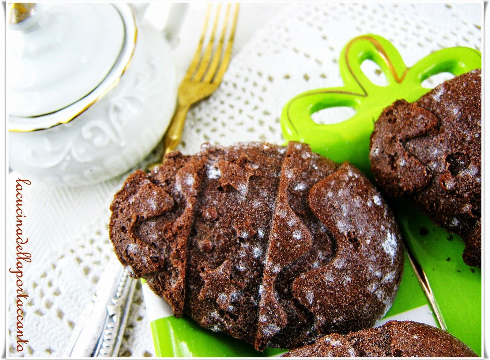 uova dolci soffici al cacao e panna