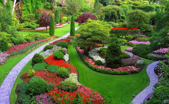 Home And Garden Perfect Flower Landscaping Ideas For Front Yards