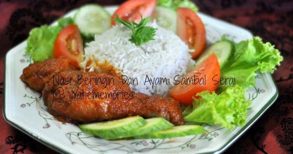 Sinar Kehidupanku Nasi Beringin Dan Ayam Sambal Serai