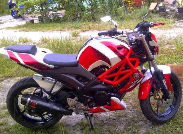 modifikasi motor byson