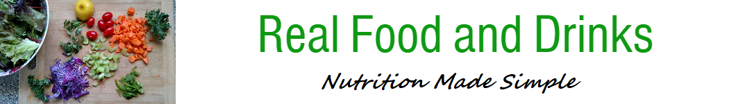 Real Food and Drinks - Blog