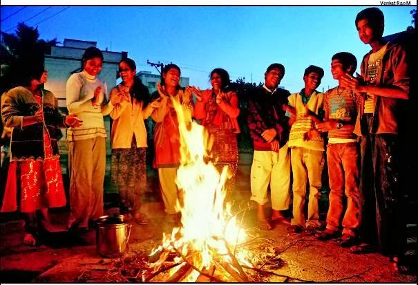 Bhogi Mantalu - Bonfire