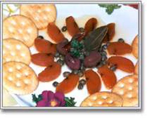 Bottarga: Mullet roe caviar
