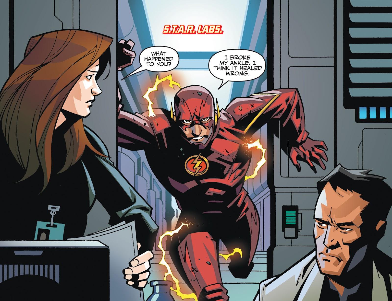 The Flash: Season Zero [I] Issue #2 #2 - English 3