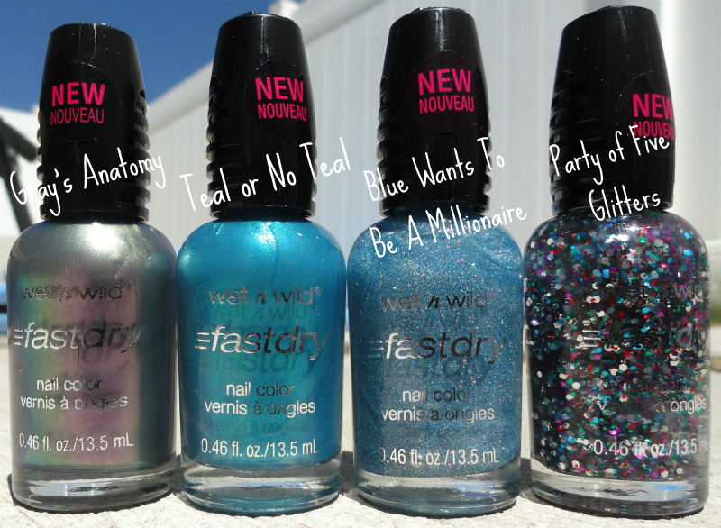 KellieGonzo: Wet n\' Wild Fast Dry Nail Polish: Review & Swatches