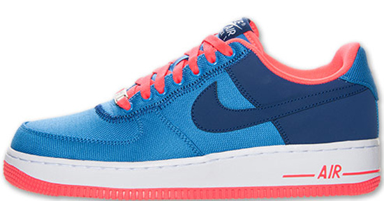 08/17/2013 Nike Air Force 1 Low 488298-131 White/Atomic