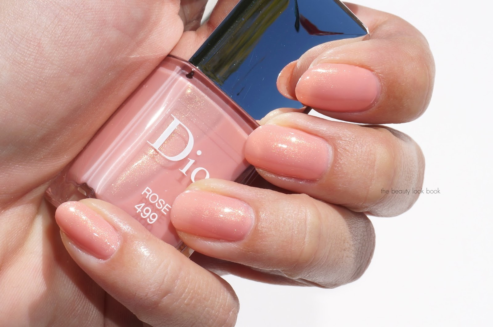 Dior Vernis in Rose 499, Pink 599 and Corail 899 | The Beauty Look Book