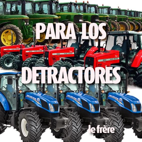 """""""Detractor"""",""""detractores"""",""""saludos"""",""""dedicatoria"""""""