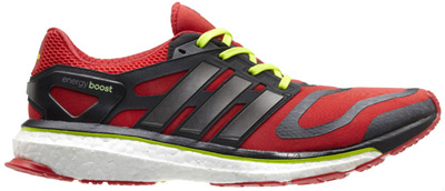 zapatillas de running adidas Energy Boost rojas