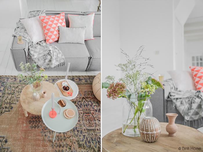 Kleurrijke woonkamer styling | Binti Home