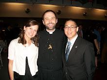 Amanda, Fr. Drew C.S.C, and myself