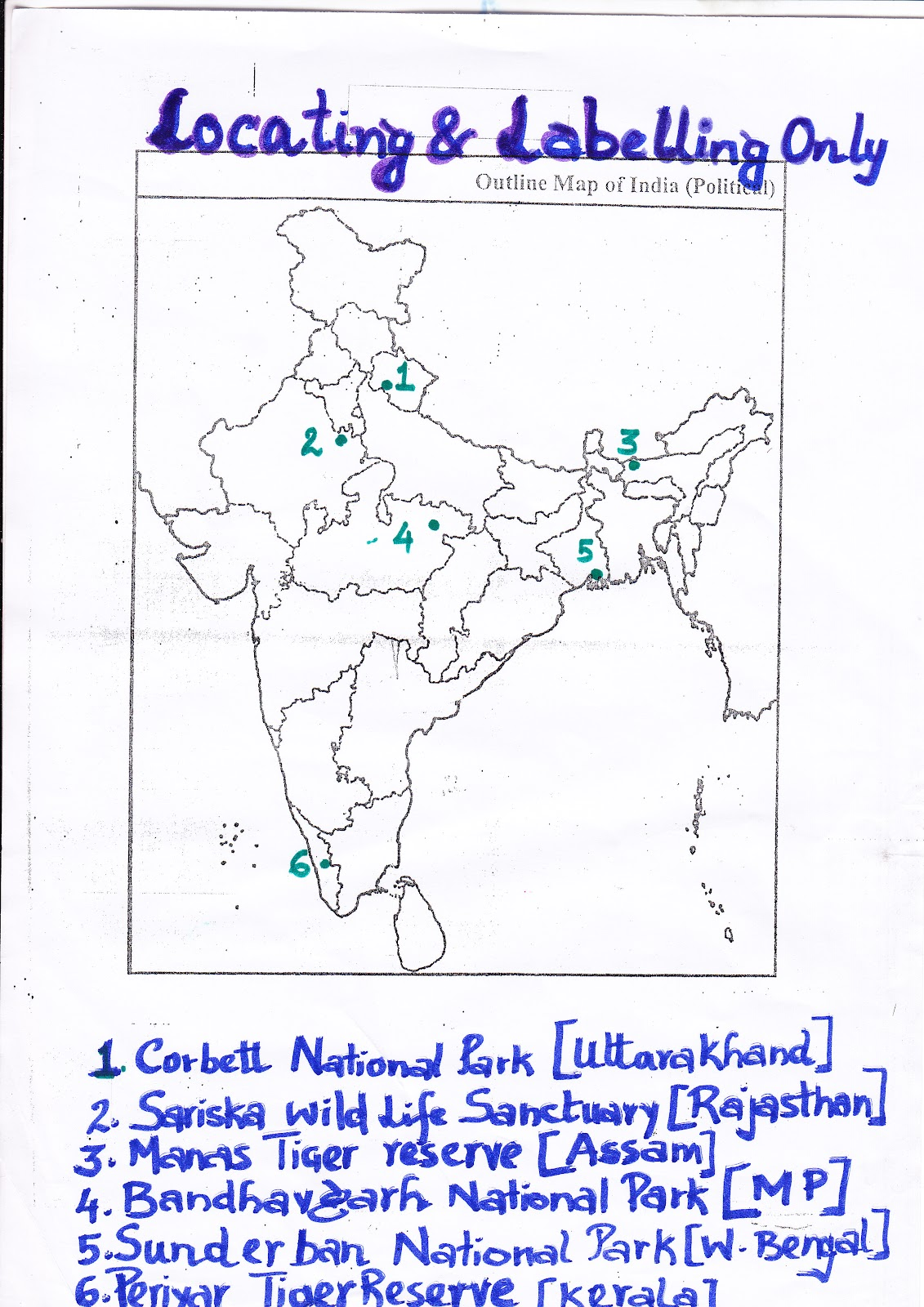 100 map of india political map of places mentioned in