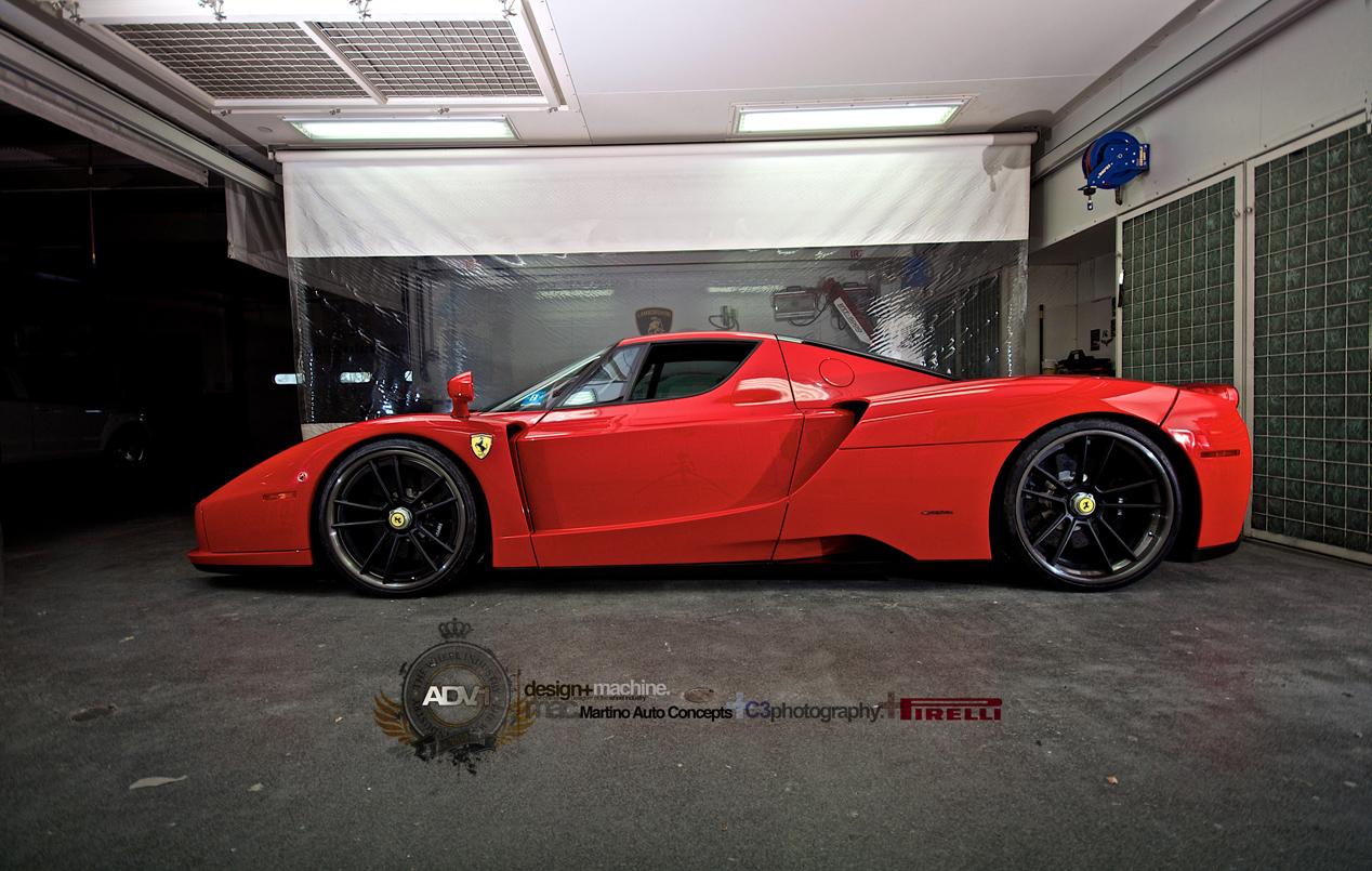 Ferrari Garage Mobile Wallpapers