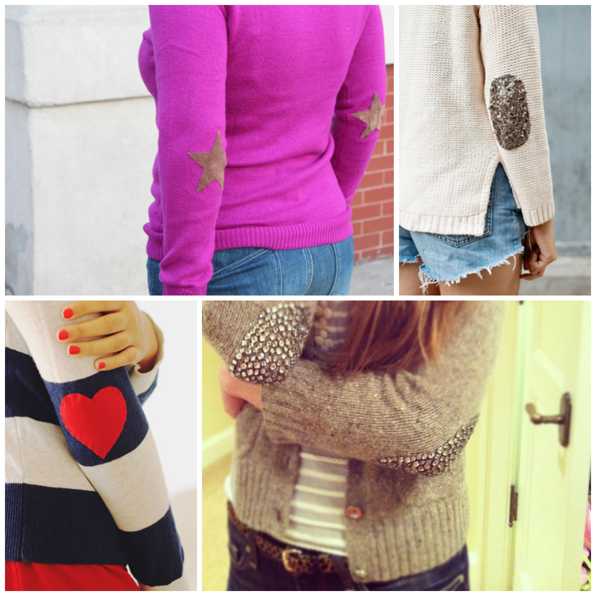 Elbow Patch Sweaters