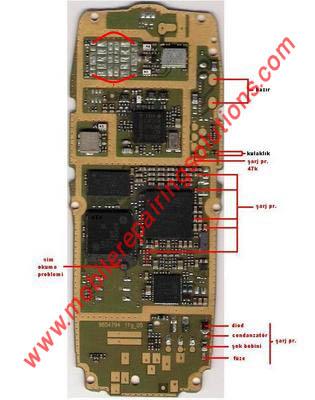 2600 lcd jumper. Nokia 2600 pa jumper problem
