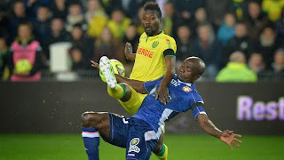 Ligue 1 - Nantes - Evian-TG : 2-1