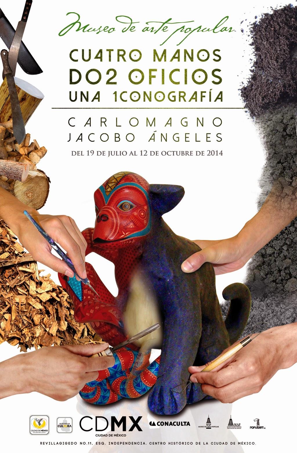 Artesanos oaxaqueños presentan su obra en el Museo de Arte Popular