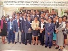 Regional conference on the taxation of SMEs in EAC