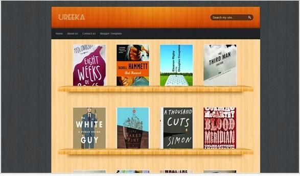 Ureeka Garrery style blogger template ~ Blogger Template Ads