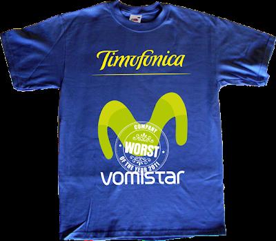 facua movistar telefonica timofonica vomistar WCOTY t-shirt ephemeral-t-shirts