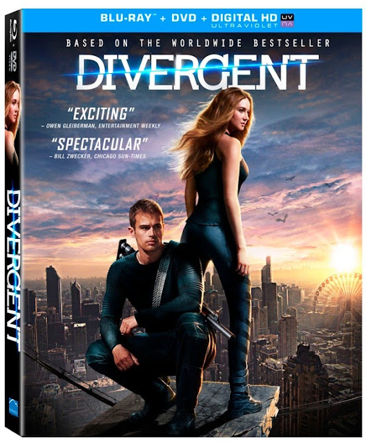 Divergent 2014 BluRay 480p 350mb ESub