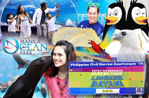 Manila Ocean Park - PCSA Treat to Government Workers 2014