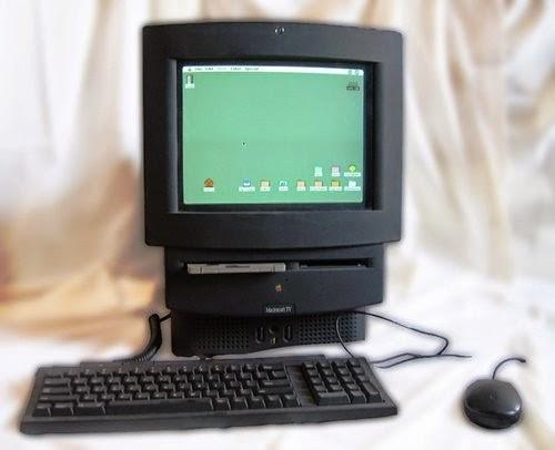 Macintosh TV era um dos poucos produtos da Apple vendido na cor preto e durou apenas cinco meses no mercado